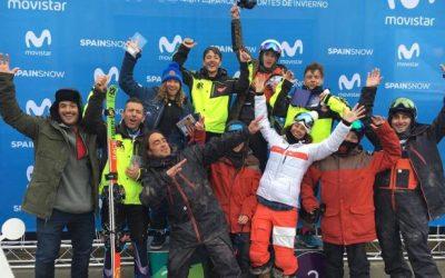 Luna Espín, campeona de Esquí Cross