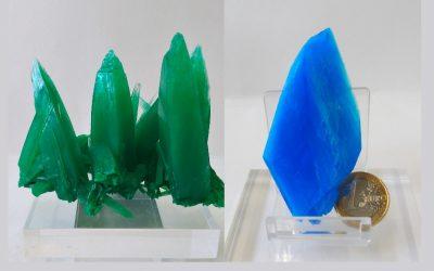 El mundo de la cristalografía. Pero, ¿estos cristales se pueden utilizar para hacer joyas?