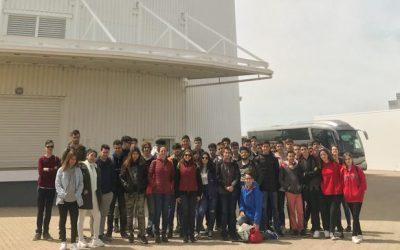 Visita a la Plataforma Solar de Tabernas y Observatorio de Calar Alto (Almería)