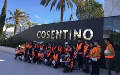 Visita a la empresa Cosentino