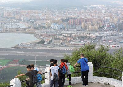 Visita al Campo de Gibraltar. 1º ESO