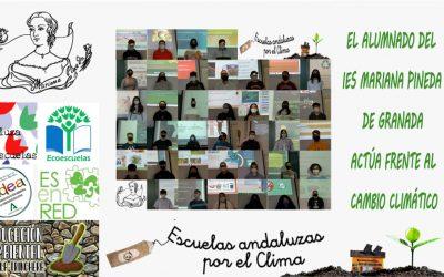 El alumnado del IES Mariana Pineda actúa frente al cambio climático